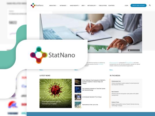 بانک اطلاعات شاخص های فناوری نانو - statnano
